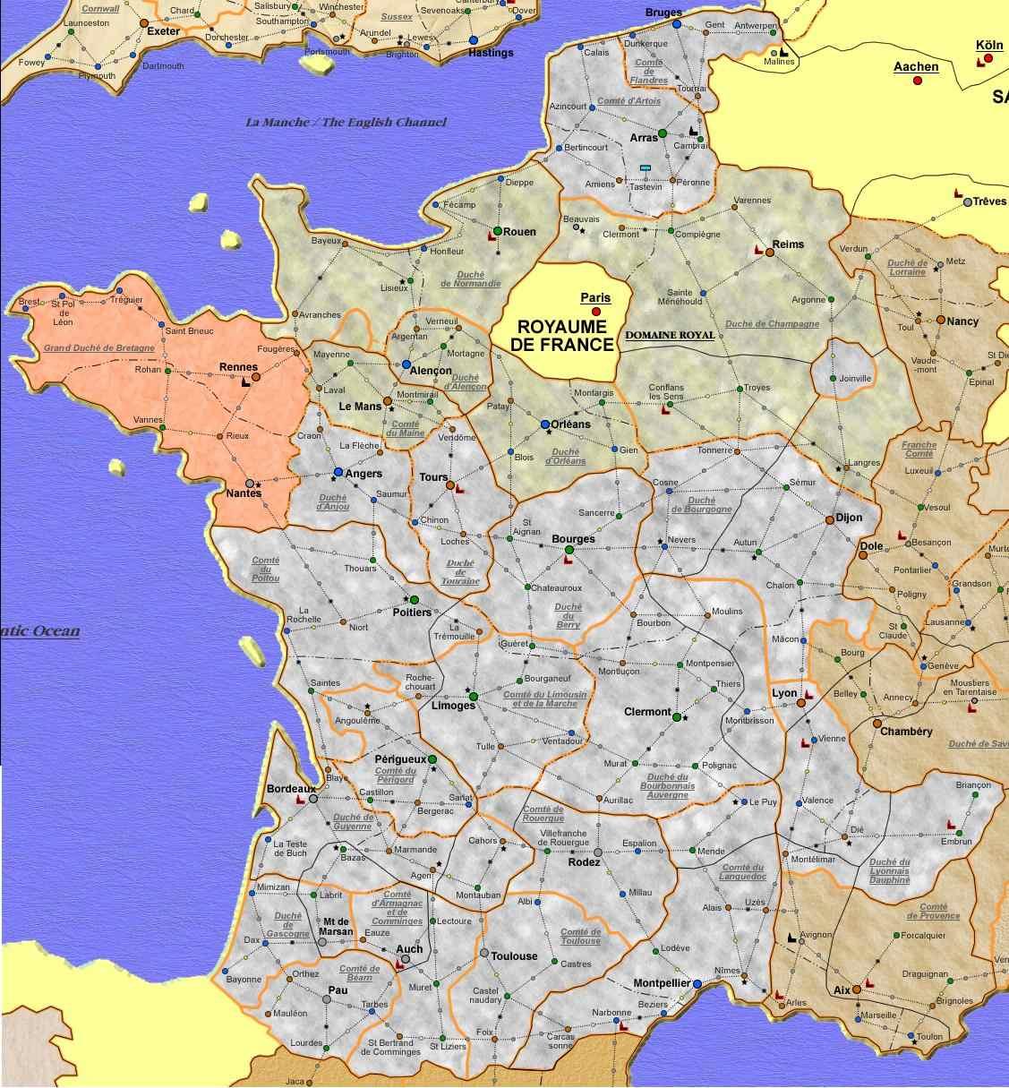 carte des royaumes renaissants carte des rrrrrrrrrr